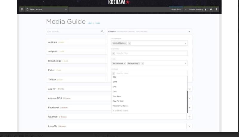Kochava helps you sort through ad networks.