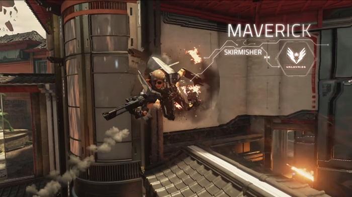 Lawbreakers' Maverick character