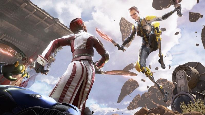Lawbreakers has fierce first-person combat.