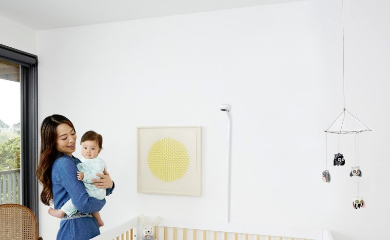 Nanit gives you a bird's-eye view of your baby.