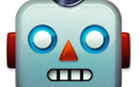 This image shows a Screenshot of a Robot Face emoji
