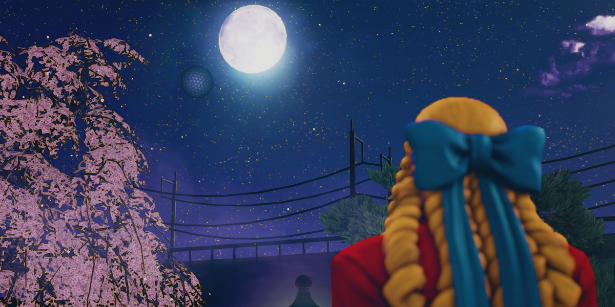 Street Fighter V Narrative Karin and the moon