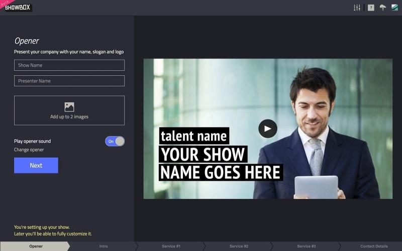 Showbox for brands