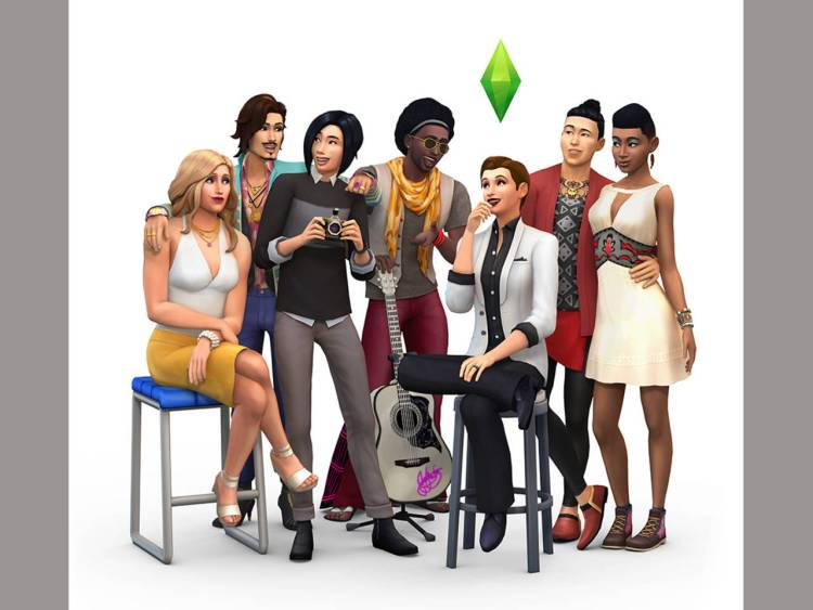 The Sims 4 has diversity.