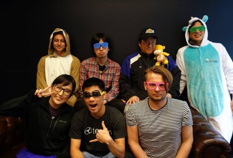 Top left to right: Amir Manji, Makoto Taguchi, Henry Oh, Christopher Farm Bottom left to right: Sunny Cha, Ricky Nguyen, Matthaus Krzykowski