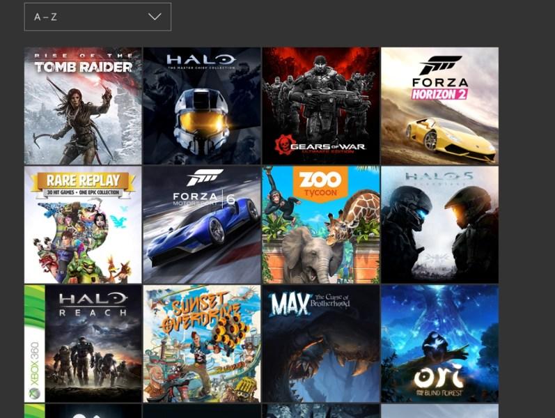 Xbox One's dashboard update