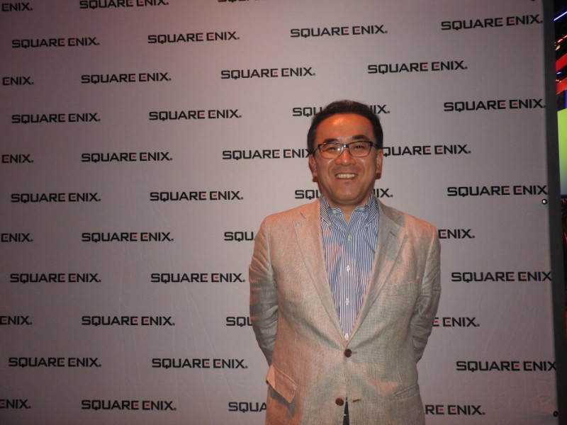 Yosuke Matsuda, CEO of Square Enix.