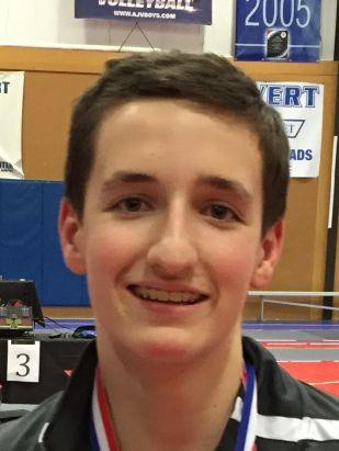 15 year-old Liam McKinley of Skoolbot