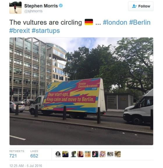 Brexit tweet