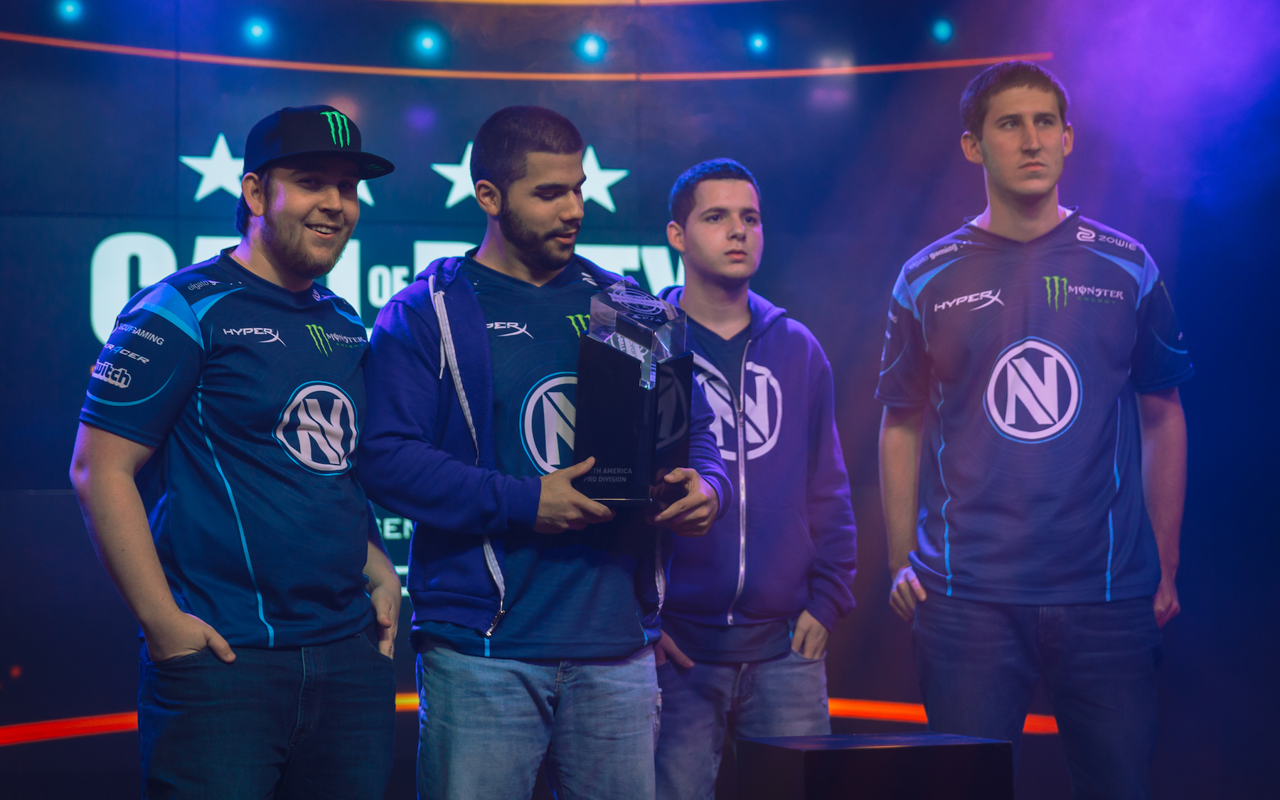 EnvyUs cemented its place as the No. 1 U.S. team.