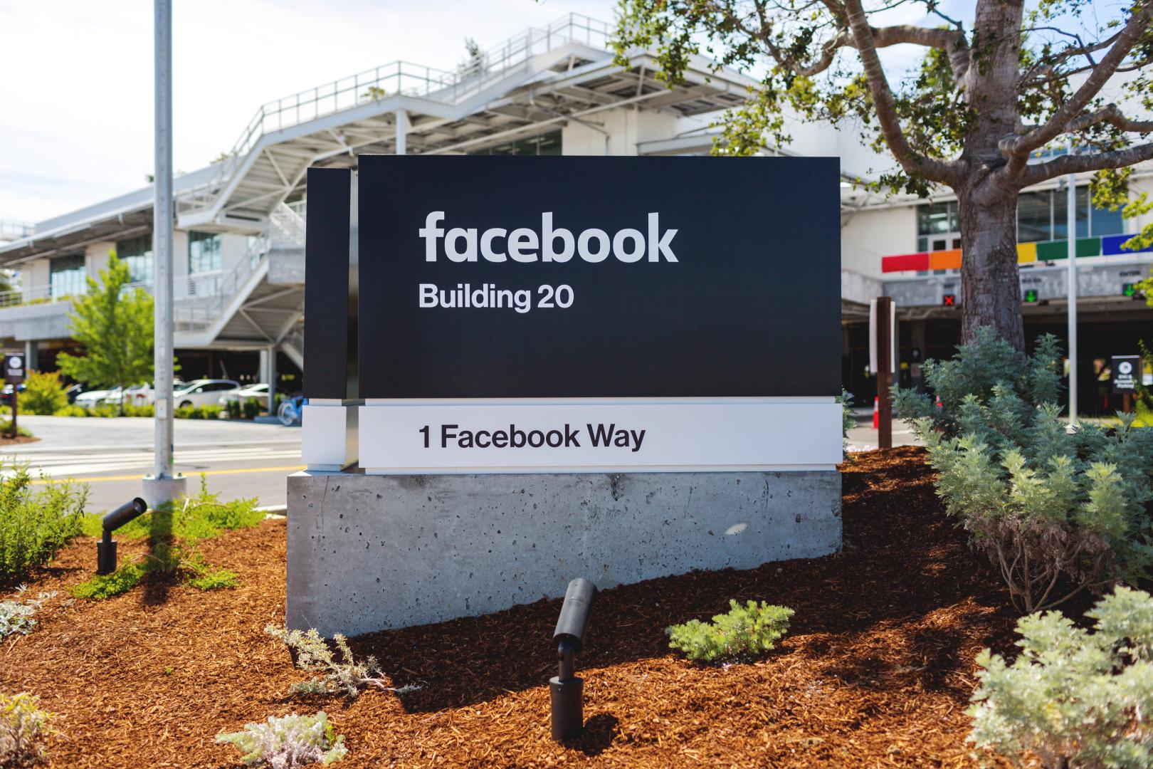 Facebook headquarters.