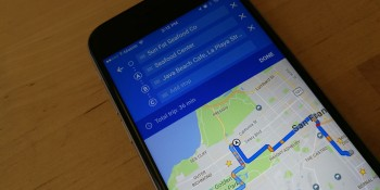 Google Maps for iOS now lets you add multiple stops to trips