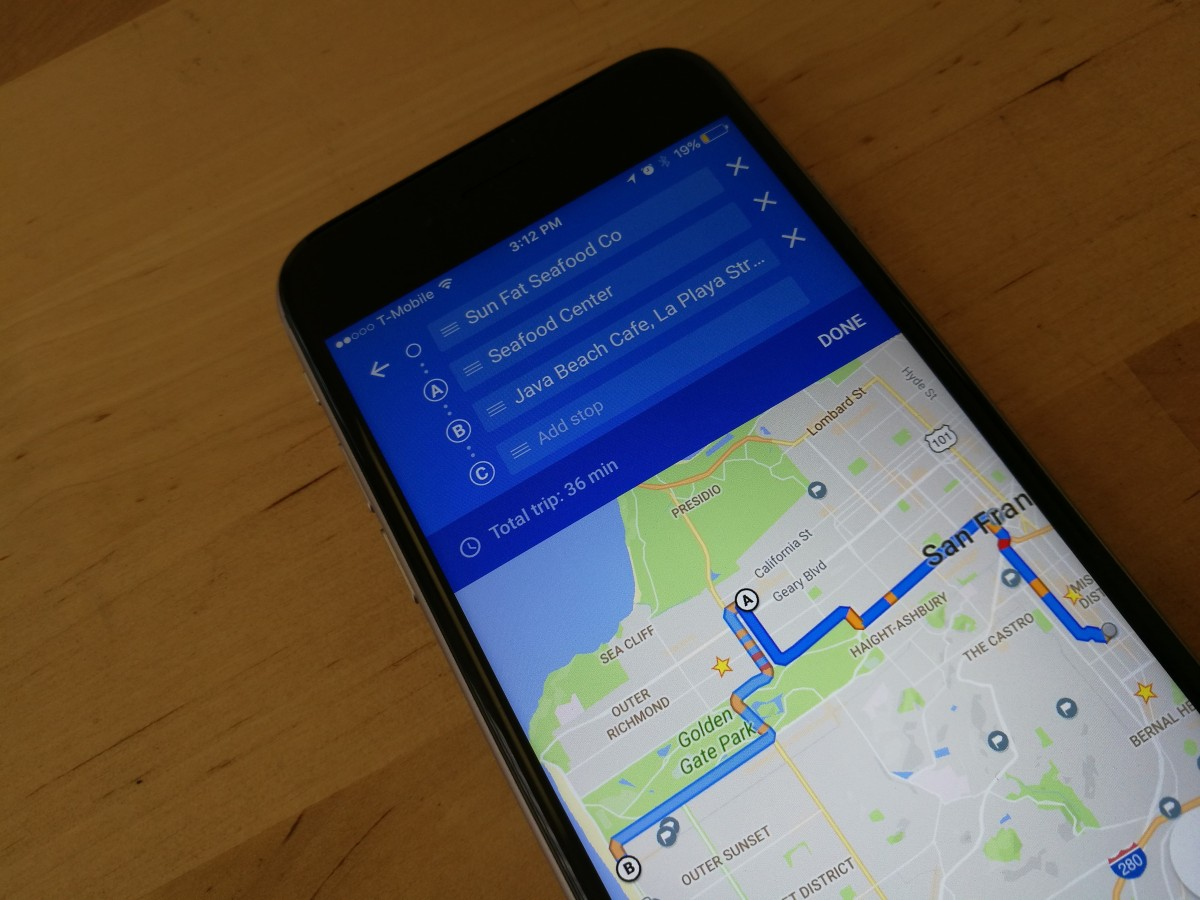 Google Maps for iOS now lets you add multiple stops to trips ... on google maps fiji islands, google maps ukraine, google maps norway, google maps kyrgyzstan, google maps cameroon, google maps poland, google maps luxembourg, google maps united arab emirates, google maps rwanda, google maps vanuatu, google maps brazil, google maps bolivia, google maps finland, google maps taiwan, google maps paraguay, google maps gibraltar, google maps papua new guinea, google maps ethiopia, google maps iceland,