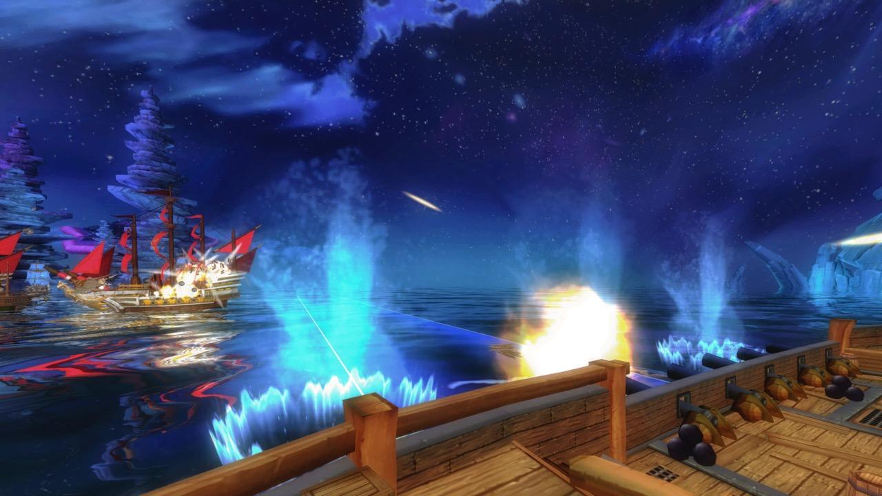 Sail the high seas in VR.