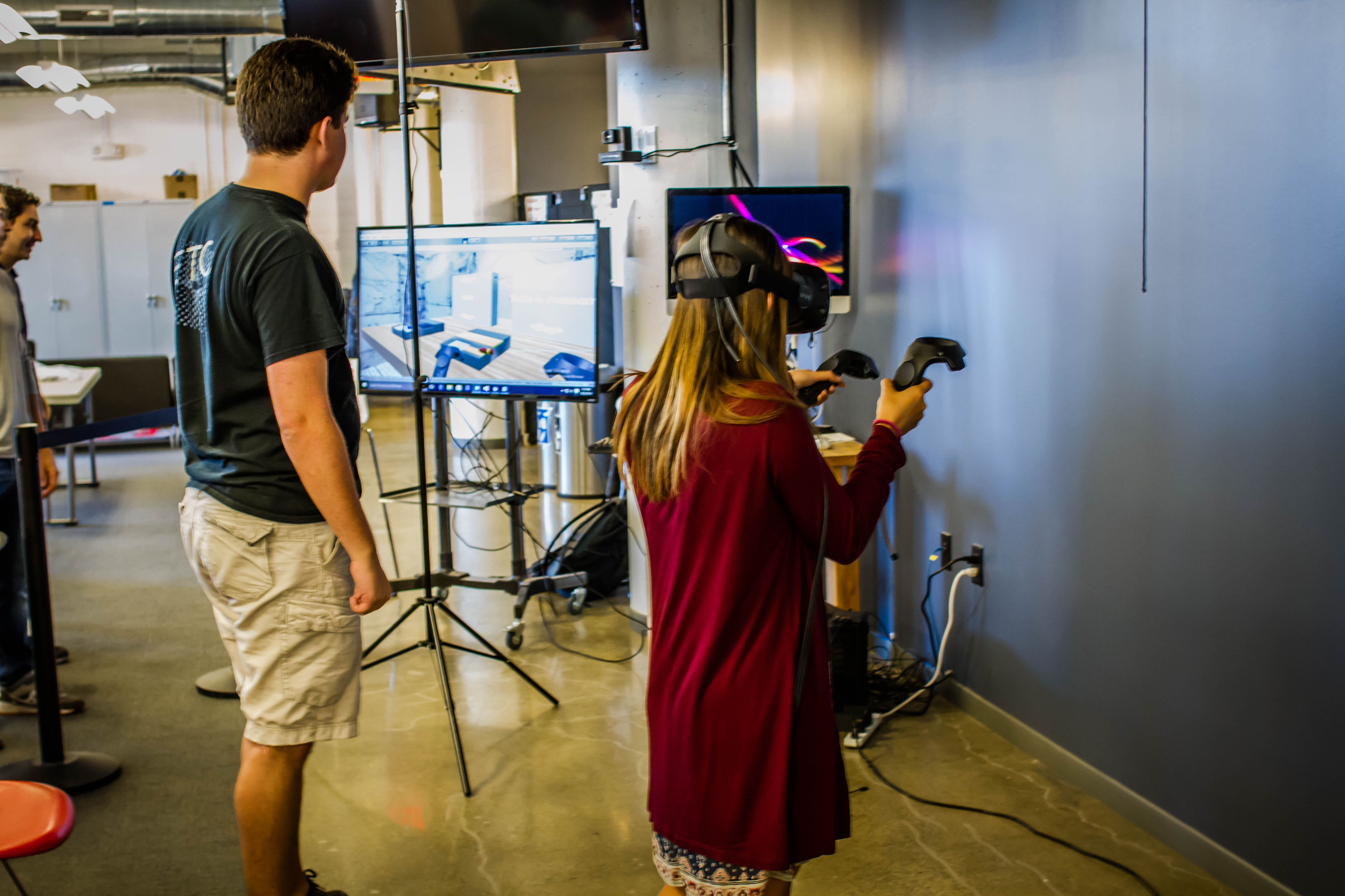A team of Twilio employees produced a hack that allowed programming through virtual reality.