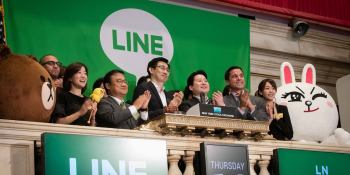 Japan's Line turns to SoftBank and cryptocurrency to make its messaging app a one-stop shop