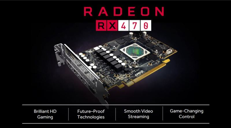 AMD is positioning the 470 as a go-to device for 1080p60 gaming.