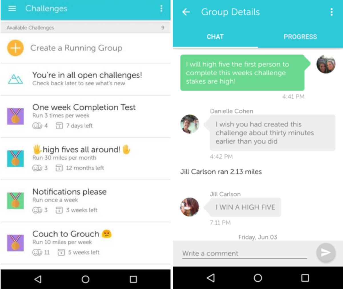 Runkeeper: Running Groups