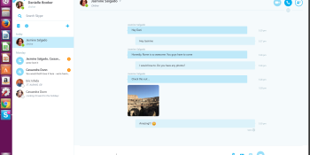 Skype's Linux app graduates to beta with new features including cross-platform video chats, calls to mobile numbers