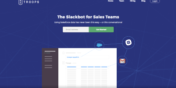 The Troops Slackbot lets you talk to your Salesforce data