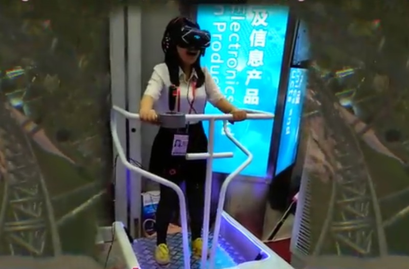 Guangzhou Zhuoyuan's 9DVR simulator is popular for out-of-home VR experiences in China