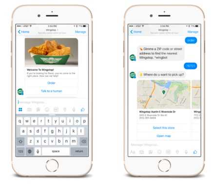 Wingstop launches bot