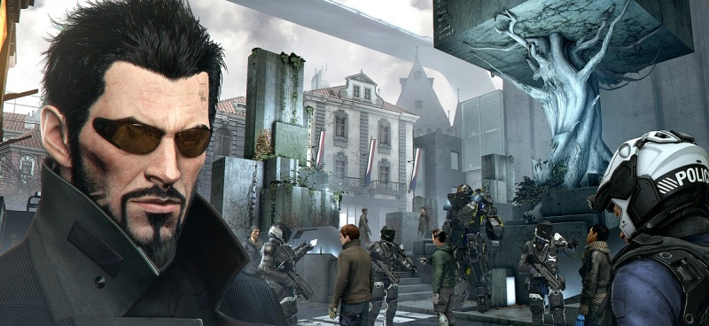 Adam Jensen has many augmentations that help him defeat enemies in Deus Ex: Mankind Divided.