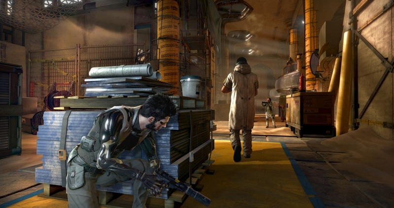 You still have lots of stealth options in Deus Ex: Mankind Divided.