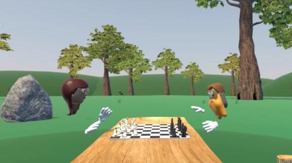 Hellovr unveils its metaworld for social virtual reality for Virtual reality fishing