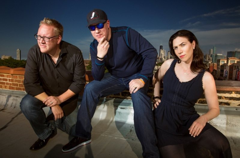 Iron Galaxy's Adam Boyes, Dave Lang, and Chelsea Blasko