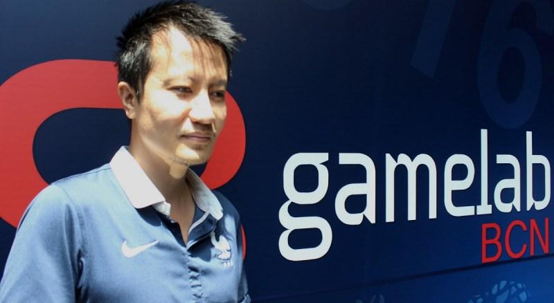 Minh Le at Gamelab 2016.