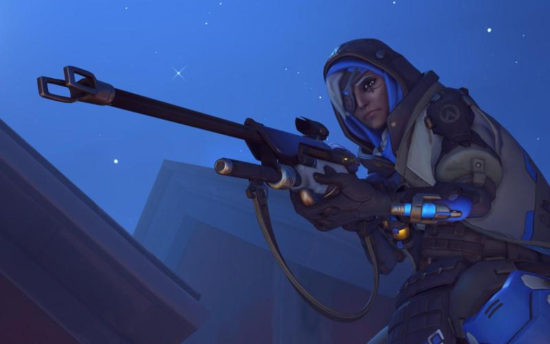 Ana is Overwatch's first new hero.