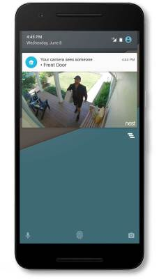 Example of Person Alerts you'll receive within Nest's mobile app.