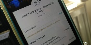 European food delivery startup Deliveroo expands into 20-minute booze deliveries
