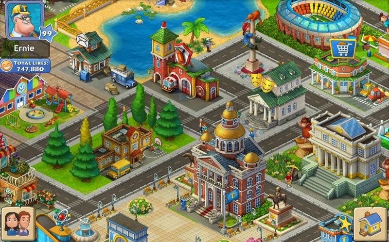 Playrix's Township mobile game