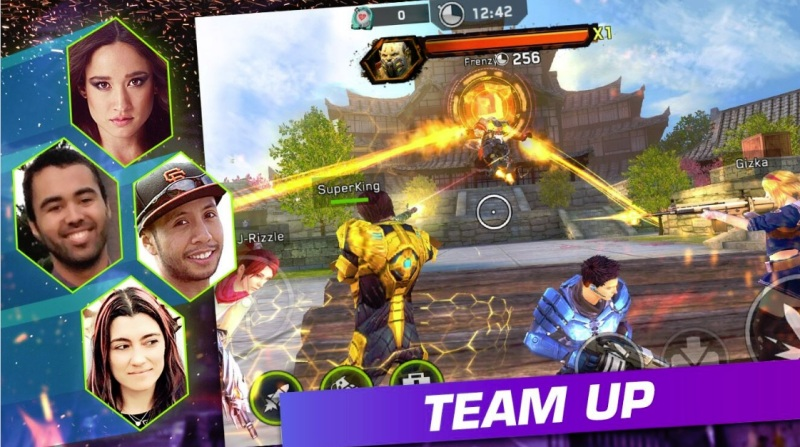 Rival Fire is a social shooter from Glu and Tencent.