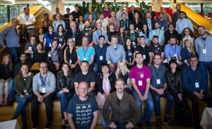 Startups, investors, and leaders from the biggest chat platforms on the planet gather for a photo at the Botness conference held June 13-14 at PCH/Highway 1 in San Francisco.