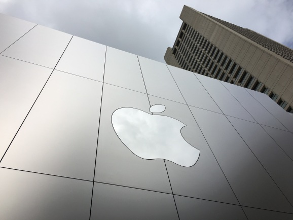 Apple Store Union Square in San Francisco.