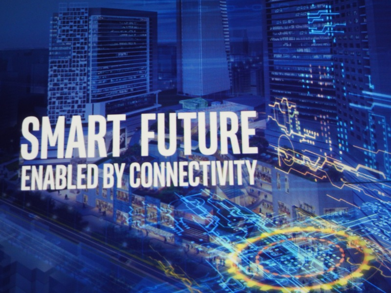 Intel is promoting smart cities at its IDF 2016 event.