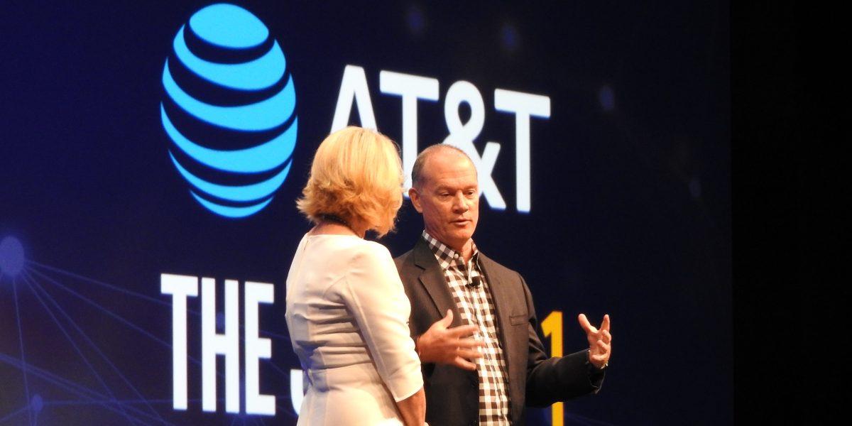 Intel's Diane Bryant speaks with AT&T's John Donovan.