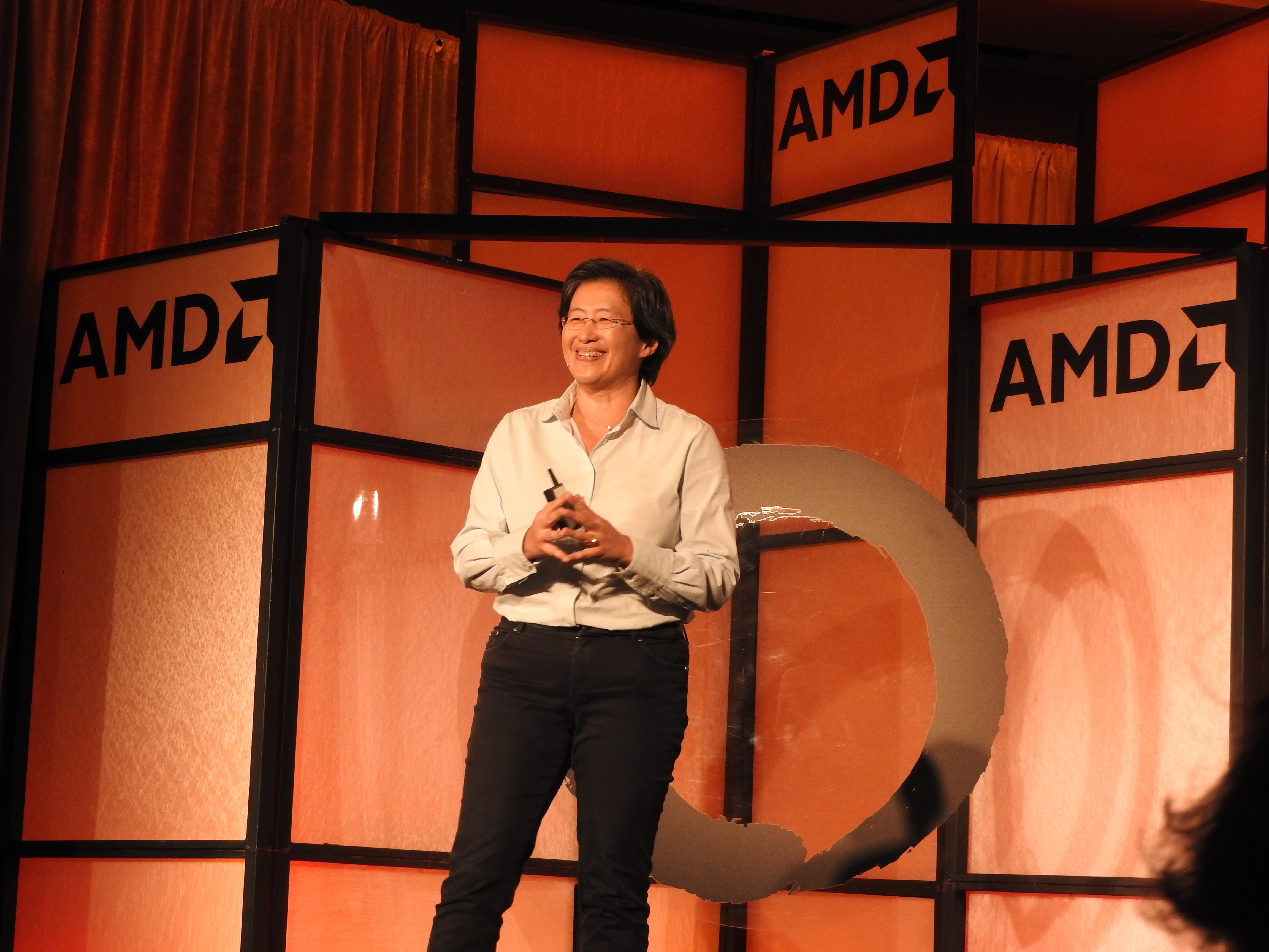 Lisa Su, CEO of Advanced Micro Devices, talking about Zen.