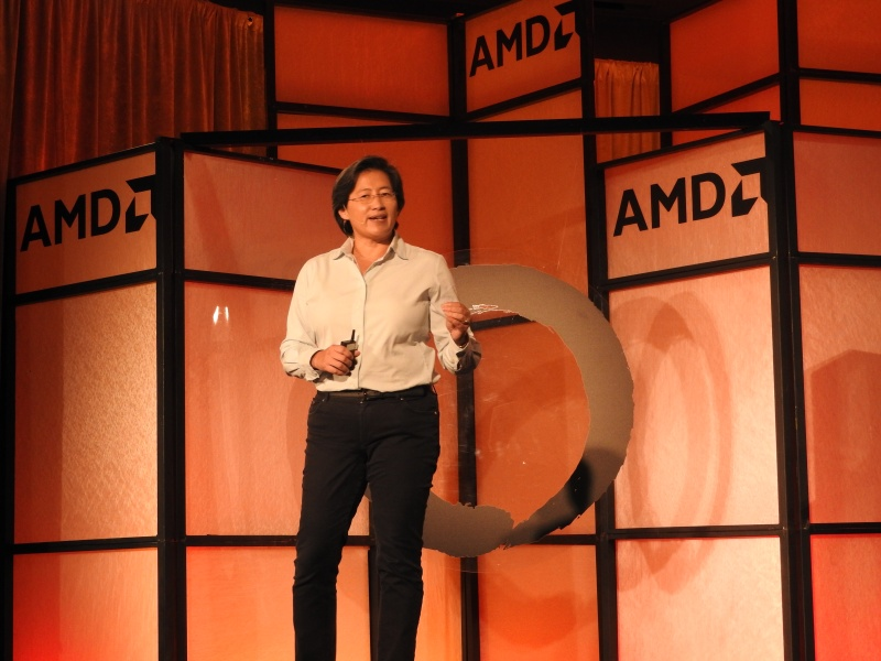 Lisa Su, CEO of AMD, introduces Zen.