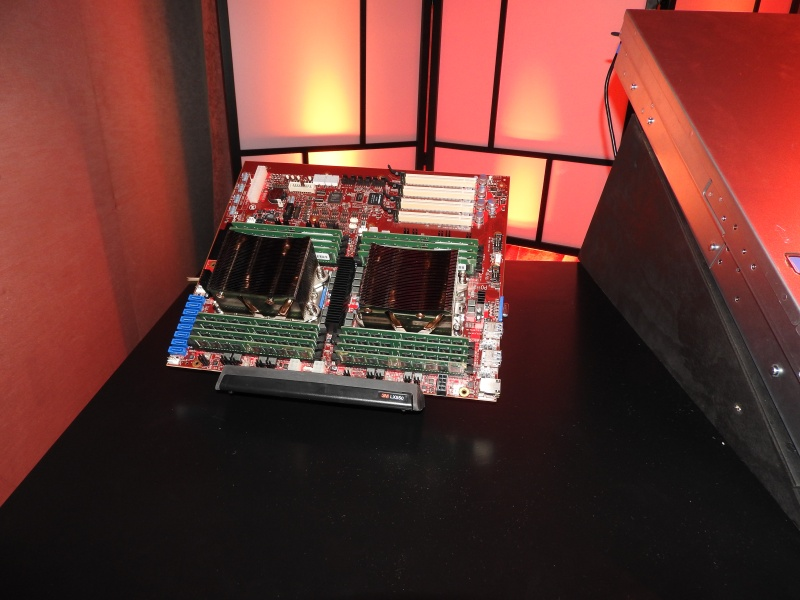 Two Zen-based chips in a server configuration.