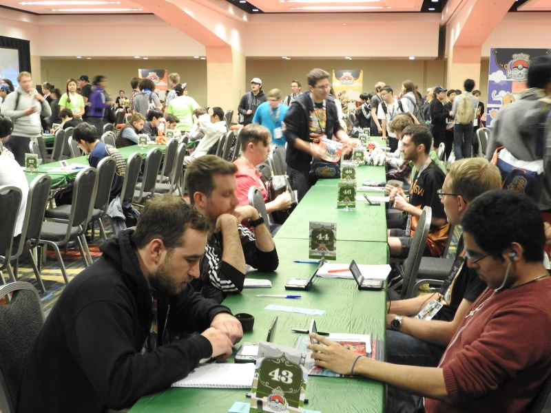 Card game players outnumber the 3DS players at the Pokémon World Championships.