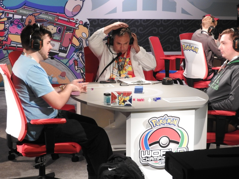 Two of the top players at the Pokémon World Championships, which have drawn almost 1,700 competitors to San Francisco.