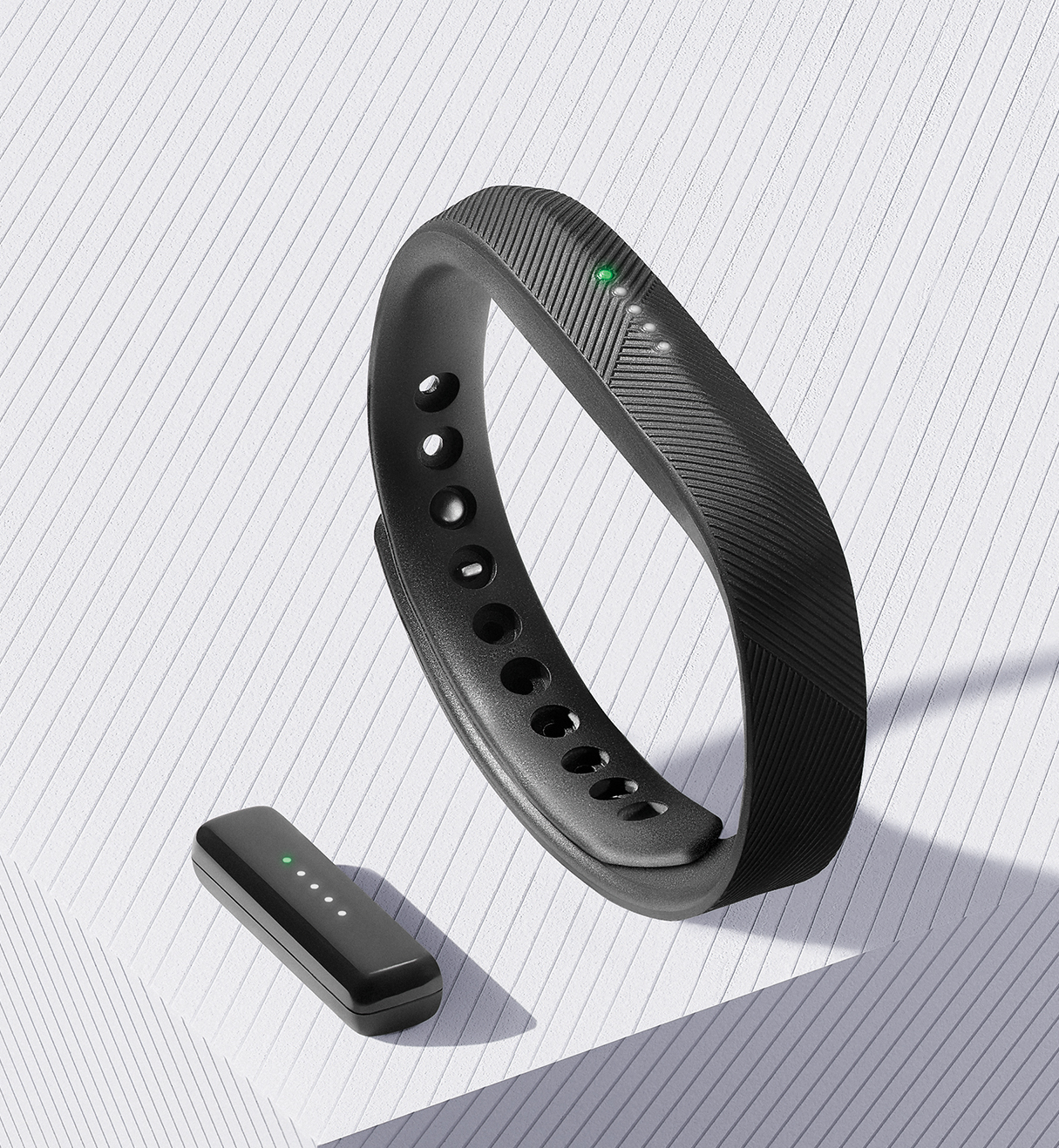 Fitbit Flex 2_Black_Pebble