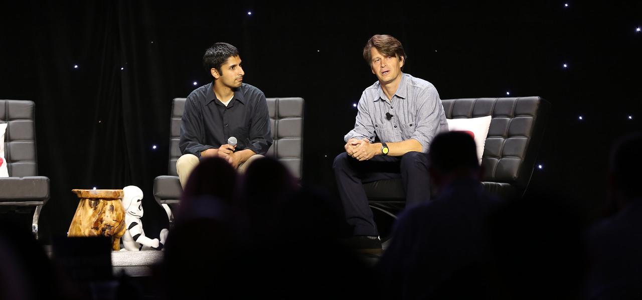 Niantic CEO John Hanke onstage at GamesBeat 2016