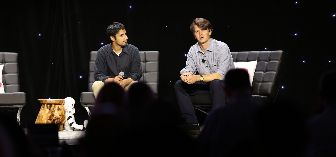 Niantic CEO John Hanke onstage at GamesBeat 2016