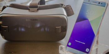 Samsung's new Gear VR features wider field of view and Note7 support, preorders start August 3