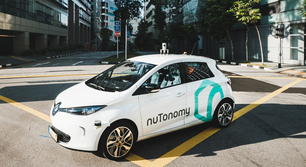 NuTonomy vehicle
